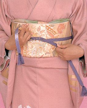 Japanese kimono Obiji1